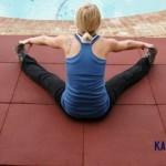 Sàn tập Yoga tại nhà